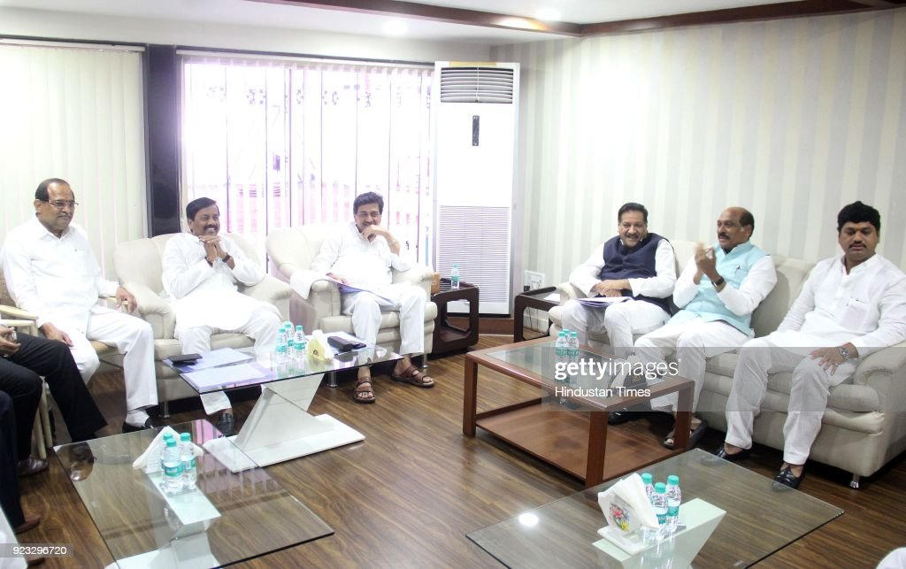 Congress-NCP Meeting For Alliance In Maharashtra