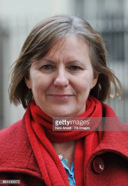 Leader of Sheffield City Council Julie Dores outside 10 Downing Street London after meeting with Prime Minister David Cameron to pledge backing for...