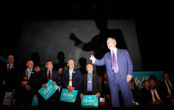 GBR: The Brexit Party Conference Tour - Southport