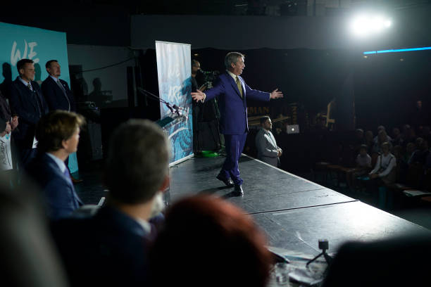 GBR: The Brexit Party Conference Tour - Newport