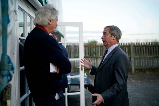GBR: The Brexit Party Conference Tour - Sedgefield