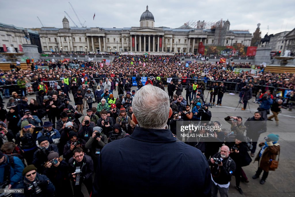 BRITAIN-DEFENCE-POLITICS-NUCLEAR-PROTEST : News Photo