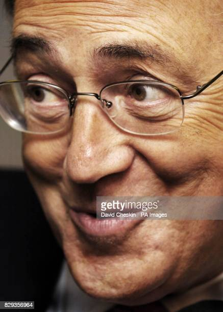 Leader of the Conservative party Michael Howard talks to staff at Pollock community centre Glasgow 11/11/04 Michael Howard who recalled his private...