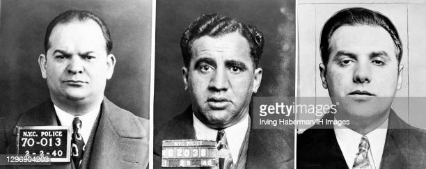 """Leader of the crime syndicate Murder, Inc. Martin """"Buggsy"""" Goldstein , New York Jewish mobster who was a hit man for Murder, Inc. Abe """"Kid Twist""""..."""