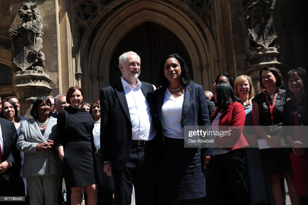 Jeremy Corbyn Introduces New Lewisham East Labour MP To Parliament