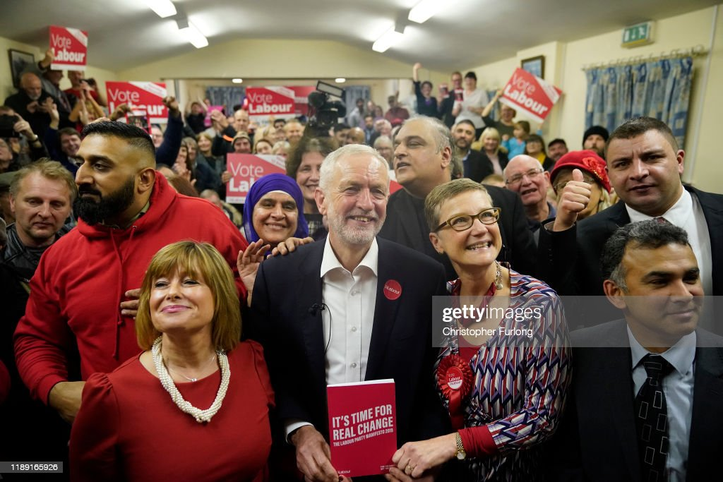 Jeremy Corbyn Campaigns In Dudley : News Photo