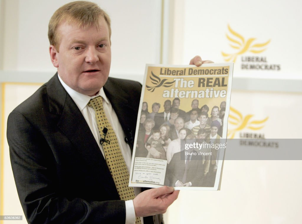 Lib Dem Leader Launches General Election Manifesto : News Photo