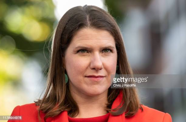 Leader of the Liberal Democrats Jo Swinson MP arrives with Liberal Democrat Mayoral Candidate Siobhan Benitato to visit 'akt' the national LGBTQ...