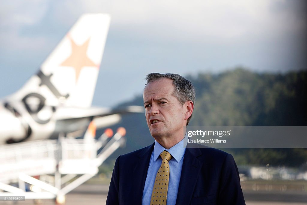 Bill Shorten Reacts To Brexit Vote As He Campaigns In Cairns