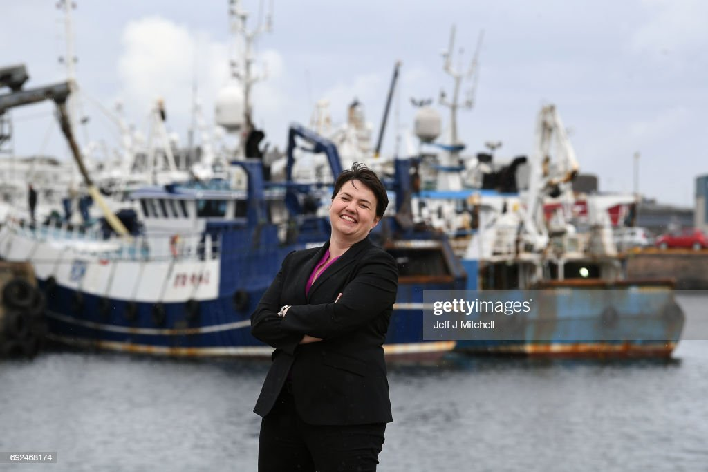 Final Push Ahead of Election As Ruth Davidson Takes To The Skies