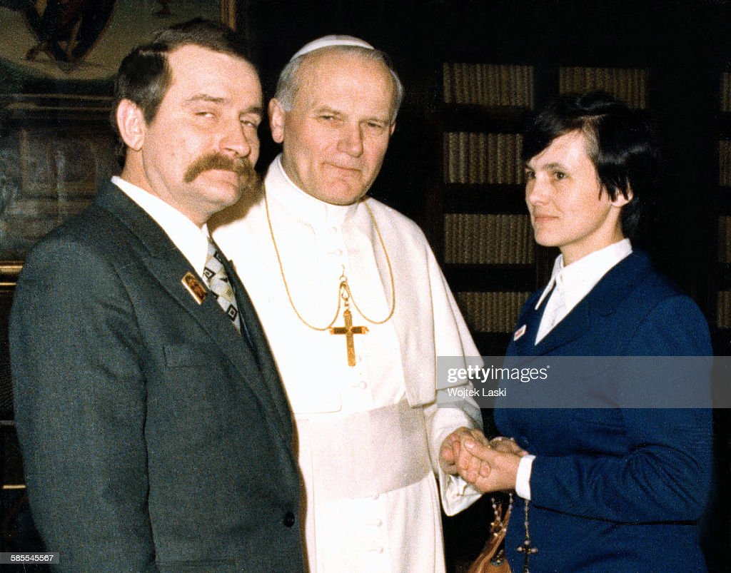 Lech News: Leader Of The 'Solidarity' Trade Union Lech Walesa And His