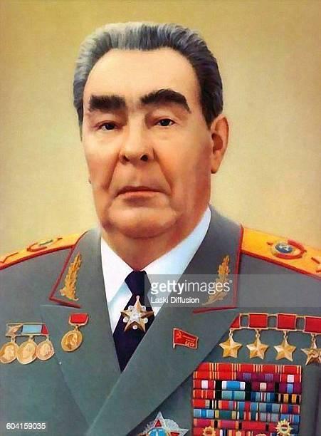 Leader of the Soviet Union Leonid Brezhnev in 1981