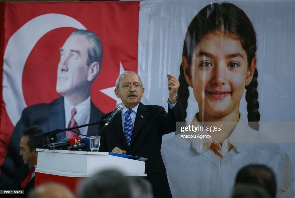"""CHP's """"No"""" Campaign ahead of constitutional referendum  : News Photo"""