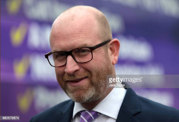Leader Paul Nuttall arrives in Boston on May 13 2017 in Boston England UKIP Leader Paul Nuttall has chosen to stand in the Boston and Skegness seat...