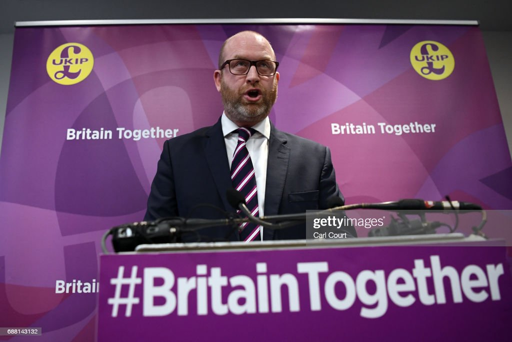 UKIP Launch Their  General Election Manifesto : News Photo