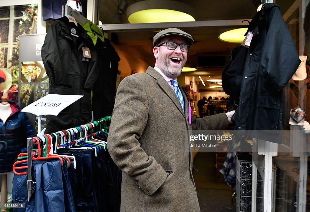 Leader, Paul Nuttall tours Whitehaven on January 27, 2017 in Whitehaven, England. The Leader of UKIP joined the Copeland candidate, Fiona Mills, on a tour of Whitehaven ahead of the by-election to be held February 23, 2017. The seat was vacated by Labour MP Jamie Reed who has represented it since 2005. He resigned to take a job at Sellafield Nuclear Plant.