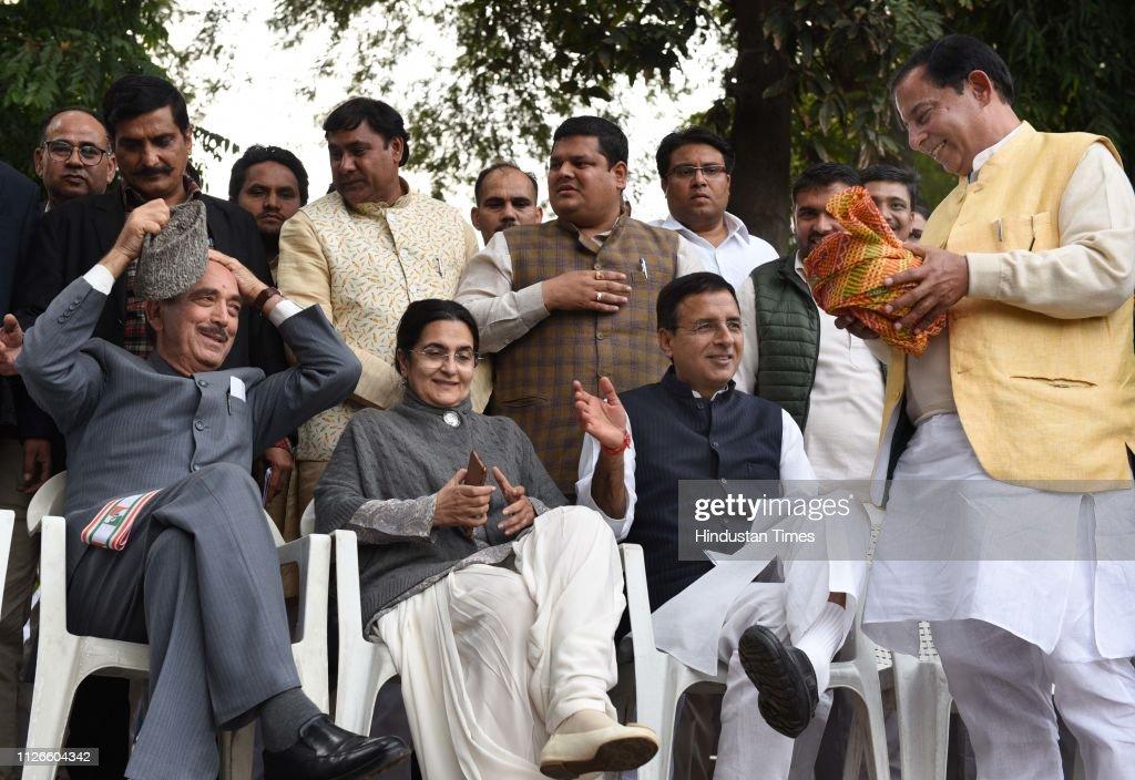 IND: JD(U) Leader Rao Kamalbir Singh Joins Congress