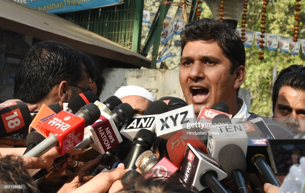 Press Conference Of AAP Leader Saurabh Bhardwaj