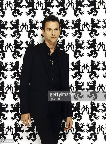 Leader Singer of Depeche Mode Dave Gahan is photographed for Blender Magazine