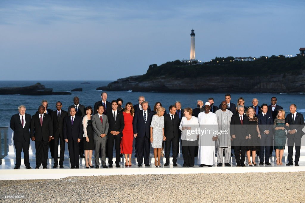 Heads Of Government Attend G7 Summit : News Photo