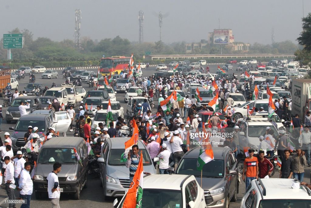 IND: Haryana Congress Parivartan Bus Yatra