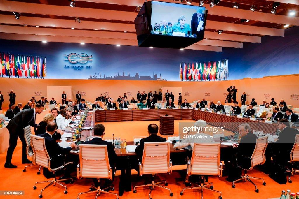 GERMANY-G20-SUMMIT : News Photo