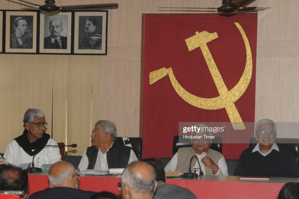 Three-Day Central Committee Meeting Of Communist Party Of India