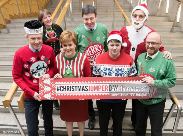 Leaders of the Scottish political parties Maree Todd Presiding Officer Ken Macintosh Anas Sarwar and Willie Rennie Nicola Sturgeon Ruth Davidson and...