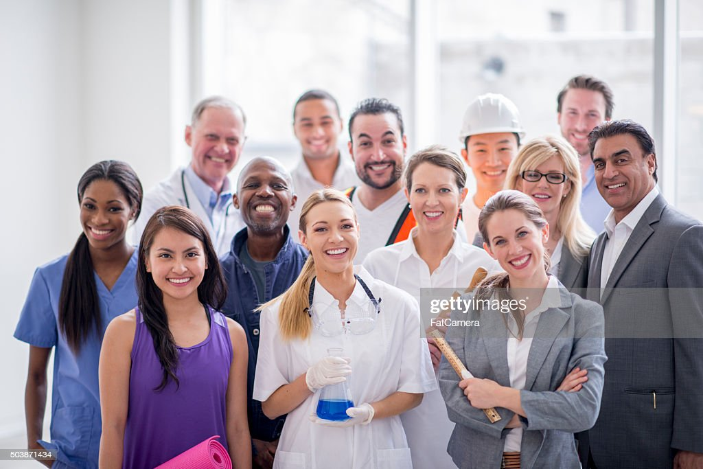 Leaders of Their Field : Stock Photo