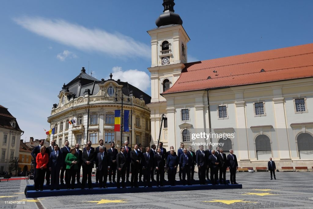 Informal EU27 leaders' meeting in Sibiu : Nieuwsfoto's