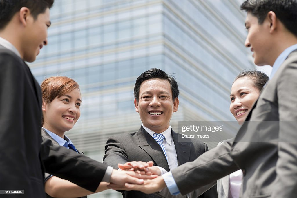 Leadership alliance : Stock Photo