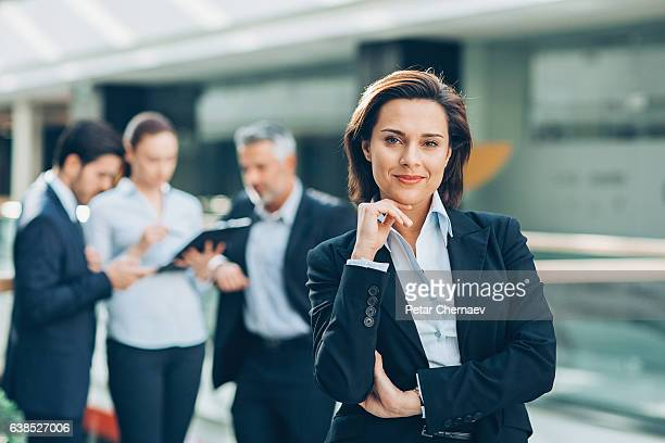 leadership and teamwork - employment law stock photos and pictures