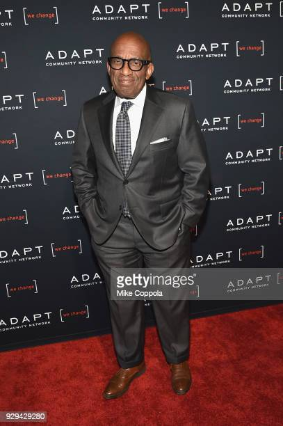 Leadership Award Honoree Al Roker attends the Adapt Leadership Awards Gala 2018 at Cipriani 42nd Street on March 8 2018 in New York City