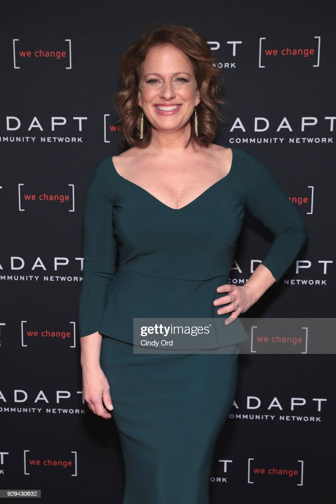Leadership Awards Honoree Amy Wright attends the Adapt Leadership Awards Gala 2018 at Cipriani 42nd Street on March 8, 2018 in New York City.