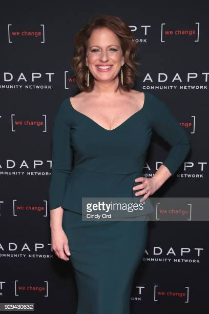 Leadership Awards Honoree Amy Wright attends the Adapt Leadership Awards Gala 2018 at Cipriani 42nd Street on March 8 2018 in New York City