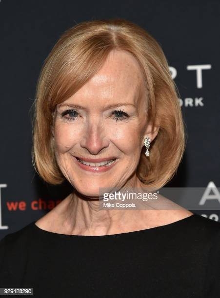 Leadership Awards host Judy Woodruff attends the Adapt Leadership Awards Gala 2018 at Cipriani 42nd Street on March 8 2018 in New York City