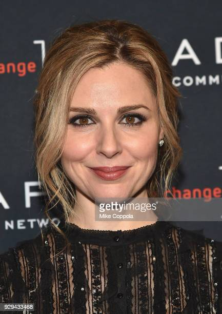 Leadership Awards presenter Cara Buono attend the Adapt Leadership Awards Gala 2018 at Cipriani 42nd Street on March 8 2018 in New York City