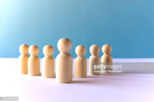 leadership conceptual - organizzazione concetto foto e immagini stock