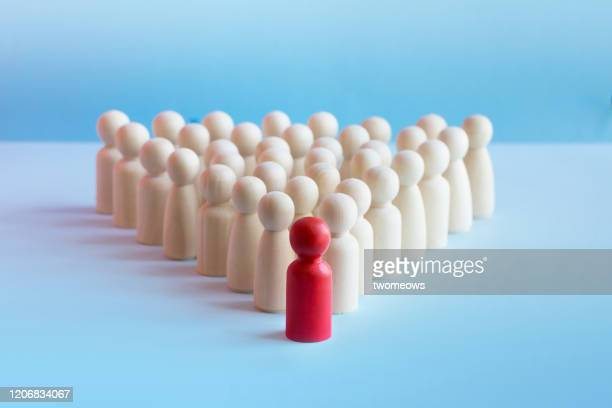 leadership conceptual still life. - following moving activity stock pictures, royalty-free photos & images