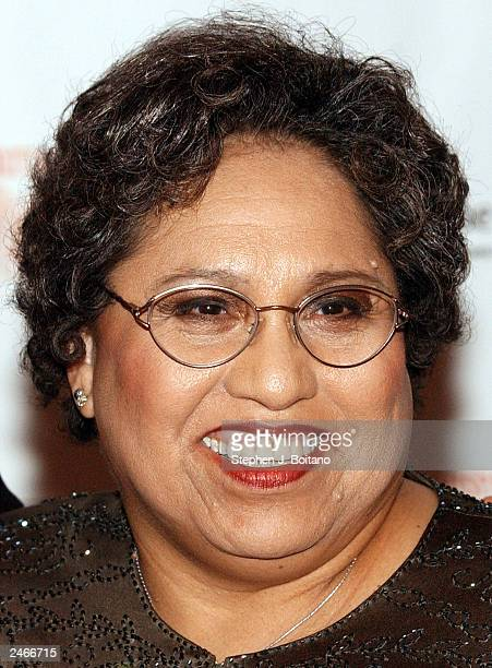 Leadership honoree Linda ChavezThompson attends the Hispanic Heritage Awards at the Kennedy Center September 5 2003 in Washington DC