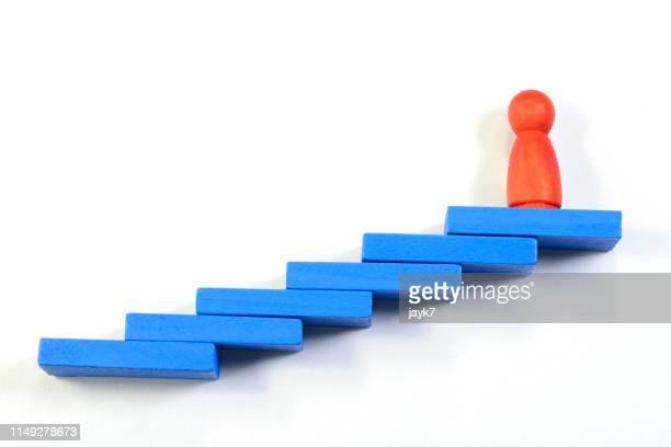 leadership - karriereleiter stock-fotos und bilder