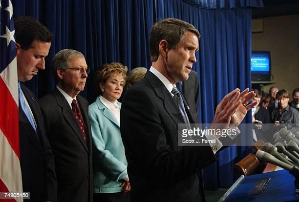 LEADERSHIPConference Chairman Rick Santorum RPa Majority Whip Mitch McConnell RKy National Republican Senatorial Committee Chairman Elizabeth Dole...