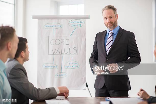 Führende Business Tagung