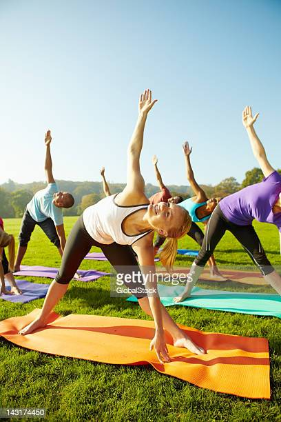 Leading a healthy lifestyle - Yoga