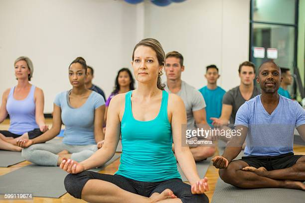 Leading a Meditation at the Gym