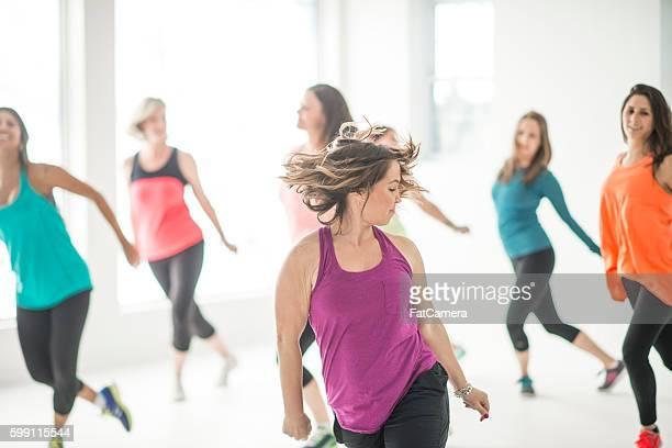 Leading an Aerobic Dance Class