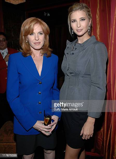 Leading Business News Anchor Liz Claman and Ivanka Trump attend the Kickoff Reception for the 2007 Breeders' Cup World Championships led by Ivanka...