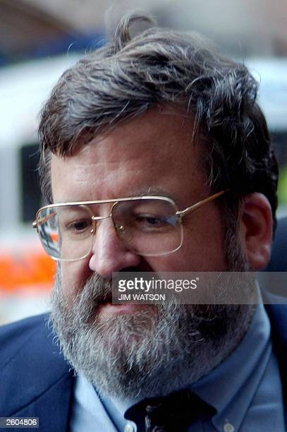 Leading conservative from South Carolina, USA, Kendal Harmon speaks to the press outside Church House in London before the press conference of the...