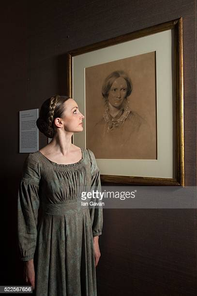 Leading dancer Hannah Bateman from the Northern Ballet's production Jayne Eyre poses as the Northern Ballet and The National Portrait Gallery...