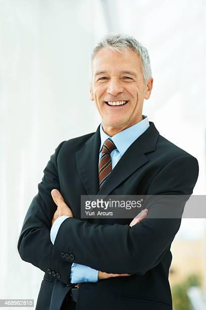 Leading his company forward